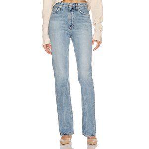 AGOLDE Vintage Hi-Rise Flare Jeans Clamor